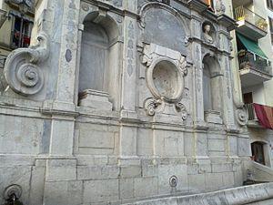 Avellino - Fountain of Bellerophon.