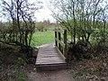 Footbridge, Pipe Hill Woodland Walk - geograph.org.uk - 403236.jpg