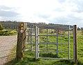 Footpath gate, Lower Shuckburgh - geograph.org.uk - 1257436.jpg