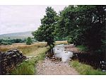 Ford, Marsett. Busk Lane enters Cragdale Water