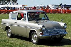 Anglia E Race Car Red