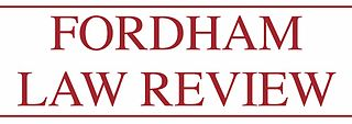 <i>Fordham Law Review</i> journal