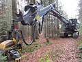 Forest harvester Kern HE95, Bavaria, December 2019 02.jpg