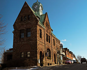Almonte, Ontario - Image: Former Almonte Post Office February 2012