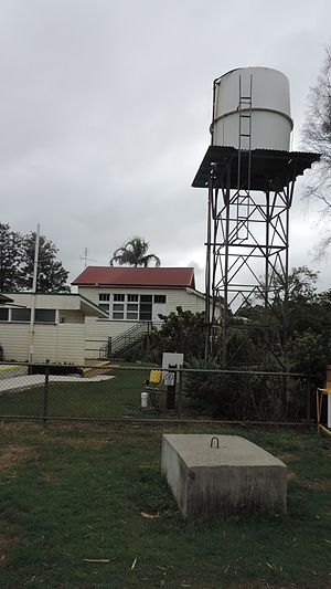 Clairview, Queensland - Former Flaggy Rock Creek State School, now Flaggy Rock Community Centre, 2016