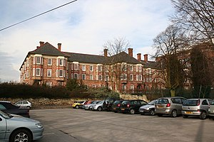 Lincoln County Hospital - Former buildings of 1878