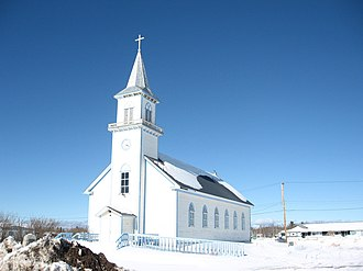 Fort Providence - Image: Fort Providence Church