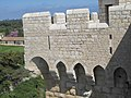 Fortified monastery of Lerins abbaye (machicolations).jpg