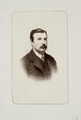 Fotografiporträtt på Auguste de Rochonnet - Hallwylska museet - 107741.tif