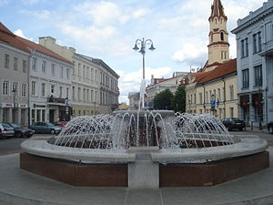 Fountain in Town hall square1.JPG