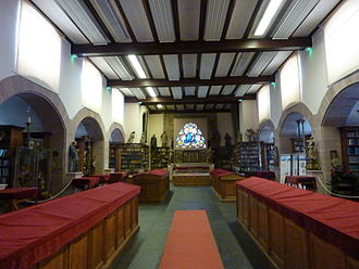 Humanist Library of Sélestat - Main reading room