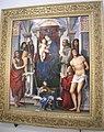 Francesco rabolini detto il francia, madonna in trono e santi, 1490 circa.JPG
