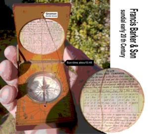 Frances Barker & Son - Image: Francis Barker sundial
