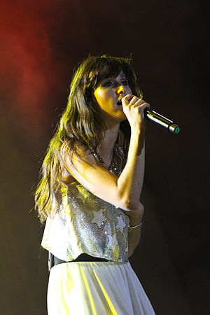 Francisca Valenzuela - Valenzuela performing in Antofagasta, Chile in February 2012.