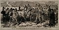Franco-Prussian War; wounded French prisoners from the Battl Wellcome V0015449.jpg