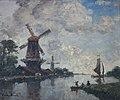 Frank Boggs, Canal en Hollande, XXe siècle, Musée d'art et d'histoire de la ville de Meudon.jpg