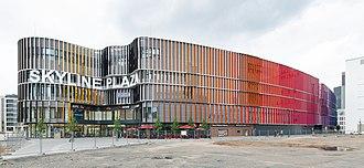 Skyline Plaza (Frankfurt) - Skyline Plaza, south-east side
