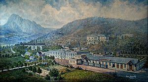 Bílina - Biliner Sauerbrunn, Franz Skopalik Wien 1899