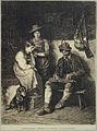 Franz von Defregger - Igranje na citre v planšarski koči.jpg