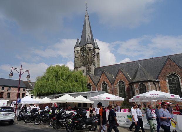 Frasnes-lez-Anvaing - Tour de Wallonie, étape 1, 26 juillet 2014, départ (A10).JPG
