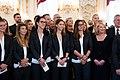 Frauen-Fußballnationalmannschaft Österreich EM 2017 Empfang Bundespräsident 33.jpg