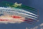 Frecce Tricolori - Aermacchi MB-339 5D3 4161 (29920885168).jpg
