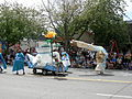 Fremont Solstice Parade 2007 - water greed monster and Greek pitcher.jpg