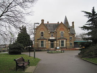 Friary Park park in Friern Barnet, London