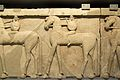 Frieze with horsemen, Prinias, 650-600 BC, AMH Gamma 232, 145378.jpg