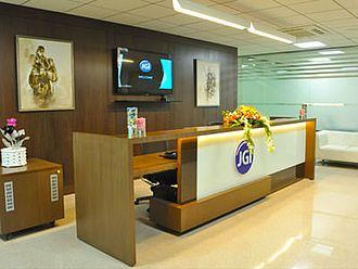 Front office - Front office at Jain University, Bangalore