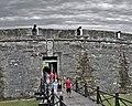 Front Gate Castillo de San Marcos National Monument St Augustine, FL.jpg