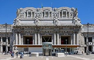 Italian railway station