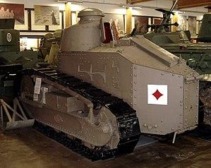 Parola Tank Museum - Image: Ft 17 parola 2