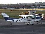 G-BCWB Cessna Skylane 182P (Private owner) (46880247412).jpg