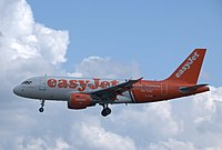G-EZIW - A319 - EasyJet