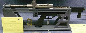 Heckler & Koch G11 - An early functioning prototype of the G11 mechanism.