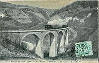 GB 104 - Environs de Lons-le-Saulnier-Les-Bains - REVIGNY - Le Viaduc du tramway.JPG