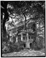 GENERAL VIEW, FROM SOUTHEAST - Dr. Joseph Johnson House, 411 Craven Street, Beaufort, Beaufort County, SC HABS SC,7-BEAUF,7-3.tif