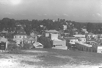 Rehovot - View of Rehovot in 1934