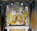 Gadaladeniya Temple, Seated Buddha in the Cruciform Shrine 0524.jpg