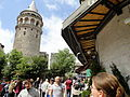 Galata Tower (Galata Kulesi), Istanbul, Turkey (9606773586).jpg
