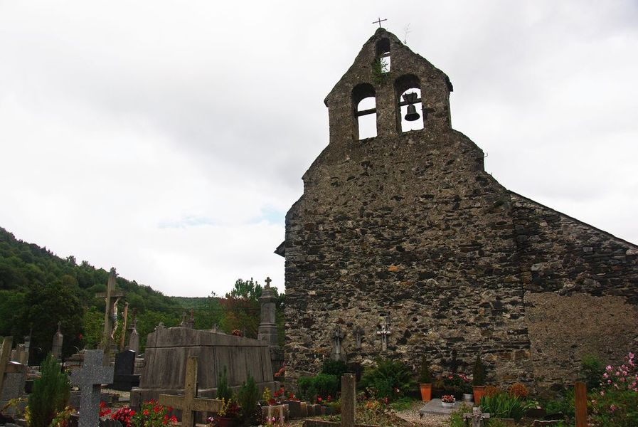 Chapelle Saint-Quintin de Galey (Inscrit)