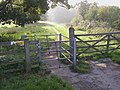 Gate at the end of Park Road, Colton - geograph.org.uk - 259451.jpg