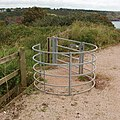Gate for wheelchair access to Sharkham Point - geograph.org.uk - 956488.jpg