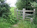 Gate on the Anglesey Coastal Path - geograph.org.uk - 490130.jpg