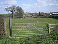 Gated field near The Croft - geograph.org.uk - 767667.jpg