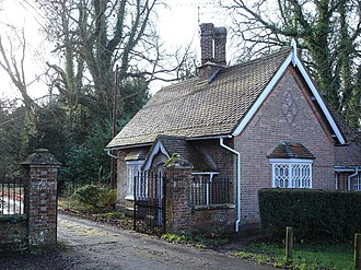 St Giles House, Wimborne St Giles - Gatehouse to St Giles House