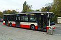 Gdańsk – przystanek autobusowy Przymorze SKM i autobus 139.JPG