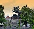 Gdańsk Stare Miasto, Targ Drzewny - pomnik króla Jana III Sobieskiego (panoramio 76417660).jpg