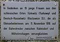 Gedenktafel Fürstenwalder Allee 93 (RahndWil) Zugunglück.jpg